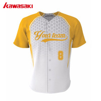 New Brand Team Spirit Baseball Jersey Top Breathable Plain Blank Baseball Outfits