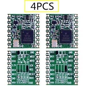 Image 1 - 4PCS RFM95 RFM95W 868Mhz 915Mhz RFM95 868MHz RFM95 915MHz LoRaTM Wireless Transceiver  SX1276