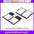 O envio gratuito de Alta qulality Filtro de Cabine filtro de Ar PARA 88880-20020 88880-20110
