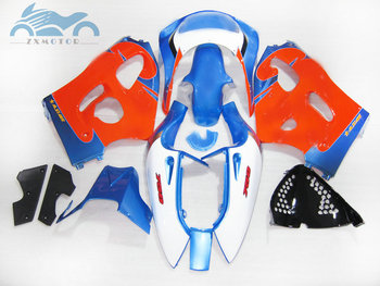 High quality fairings kit for SUZUKI GSXR750 GSXR 600 1996-2000 SRAD custom fairing kits GSXR600 750 96 97 99 00 orange blue set