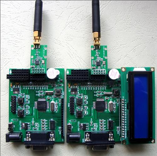 MSP430 development board, wireless evaluation board, support CC1101, Si4432, RF903, NRF2401 and so on