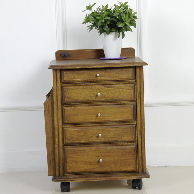 Small Table Simple Modern Side Cabinet Fashion Corner Wood A Cabinets Storage Boxes Wooden Jewelry Box