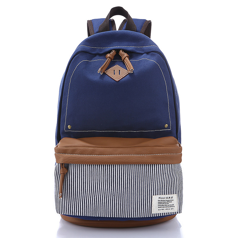 Online Shop 2015 Fashion Canvas Backpack School Bag Colorful Boy ...