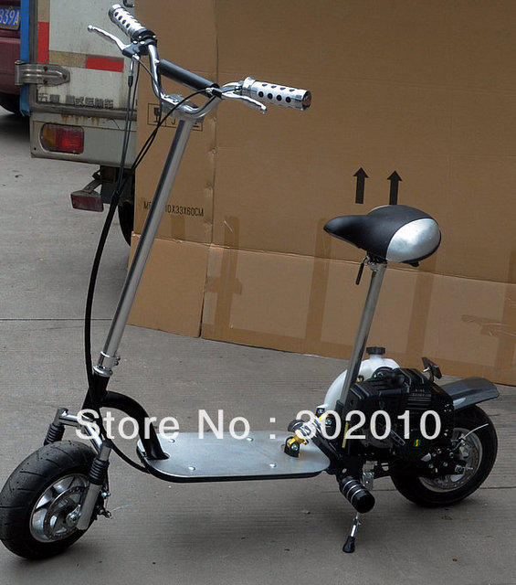 49CC Gas scooter pull  start scooter 2stroke x5-1