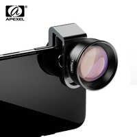 Lente de teléfono móvil HD APEXEL lente de retrato de telescopio 2X con filtro de estrella CPL lente para xiaomi redmi huawei móvil
