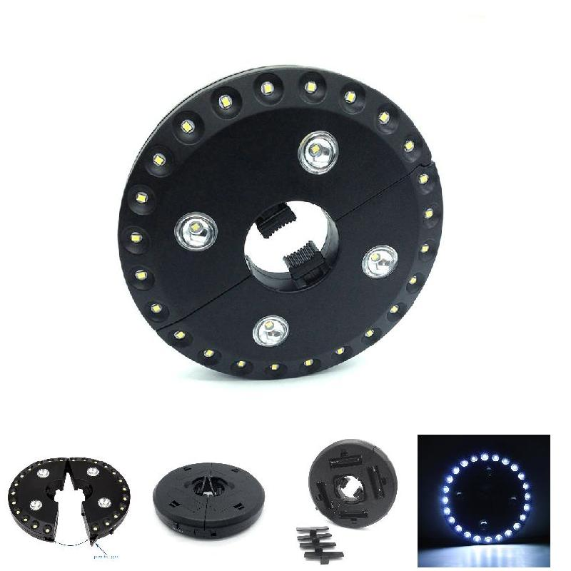 Patio Umbrella Light 3 Brightness Modes Cordless 28 LED Lights for Patio Umbrella Campin ...