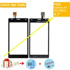 P880 Touch Screen For LG P880 Optimus 4X HD P880G Touch Screen Digitizer Touch Panel Front Glass Lens Sensor black white