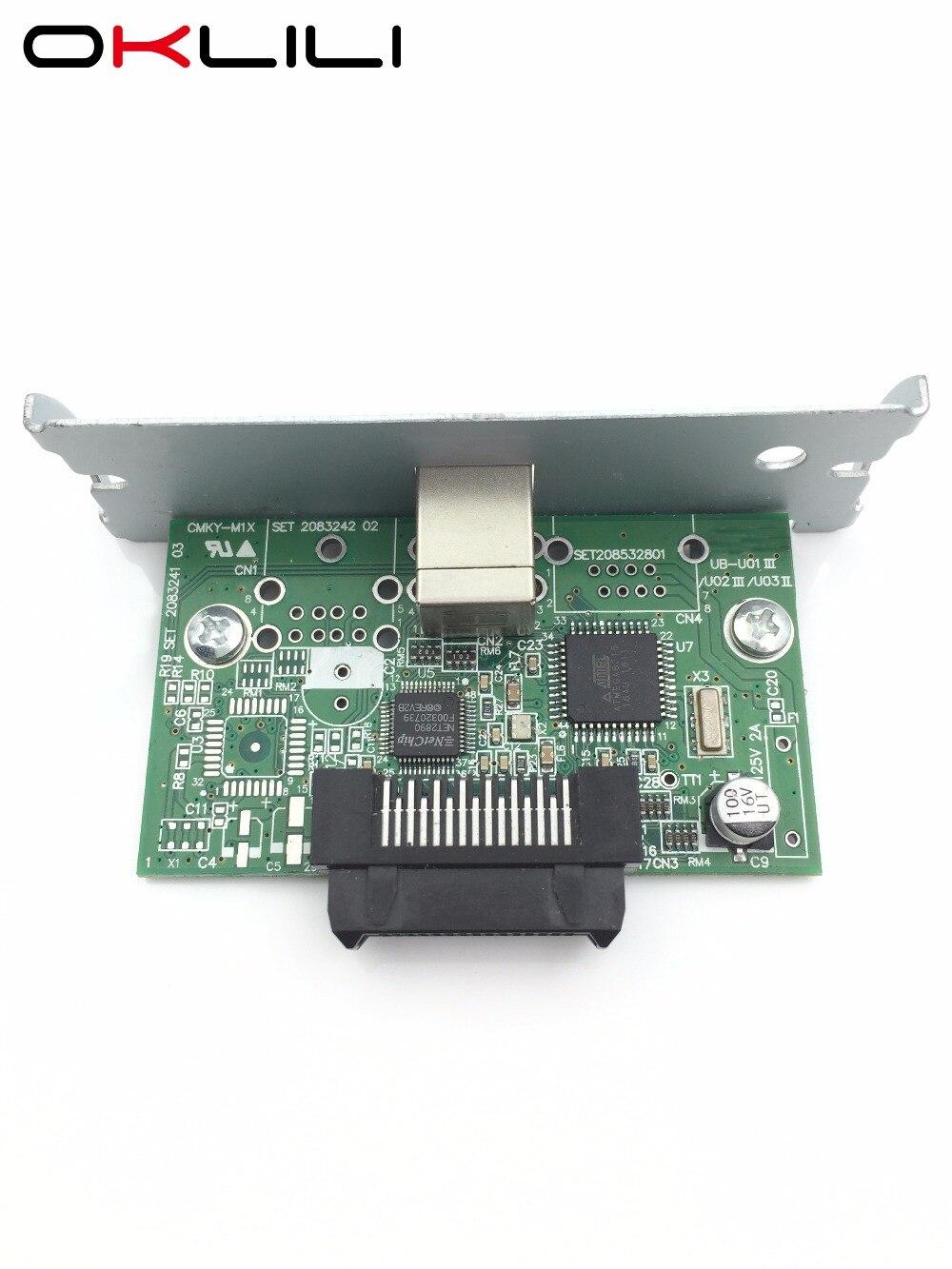 NEW C32C824131 M148E USB Port Interface Card for Epson TM-H5000II H6000IV J7000 J7100 J7500 J7600 L90 T70 T88IV T88V T90 U220 usb port interface card for epson tm h5000ii h6000iv j7000 j7100 j7500 j7600 l90 t70 t88iv t88v t90 u220 a187 u230 u325 u200