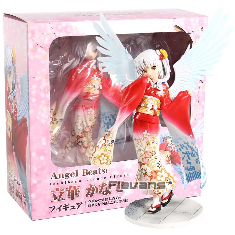 Angel Beats Tachibana Kanade Kimono Ver. PVC Figure Collectible Model ToyAngel Beats Tachibana Kanade Kimono Ver. PVC Figure Collectible Model Toy