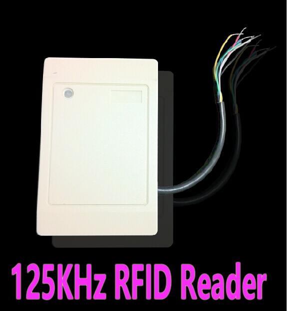 Hot Sell 125Khz RFID Reader EM ID Card RFID Tag Reader WG26 Waterproof for Access Control System for home security wg26 34 em id card reader 125khz door access control system with keypad for rfid card waterproof f1710a