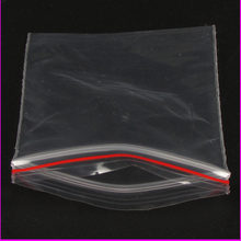 100Pcs 6X8CM Zip Lock Bags Clear Poly Bag Reclosable Plastic Small Baggies Gift Candy Package Gifts Bags & Pouches(China)