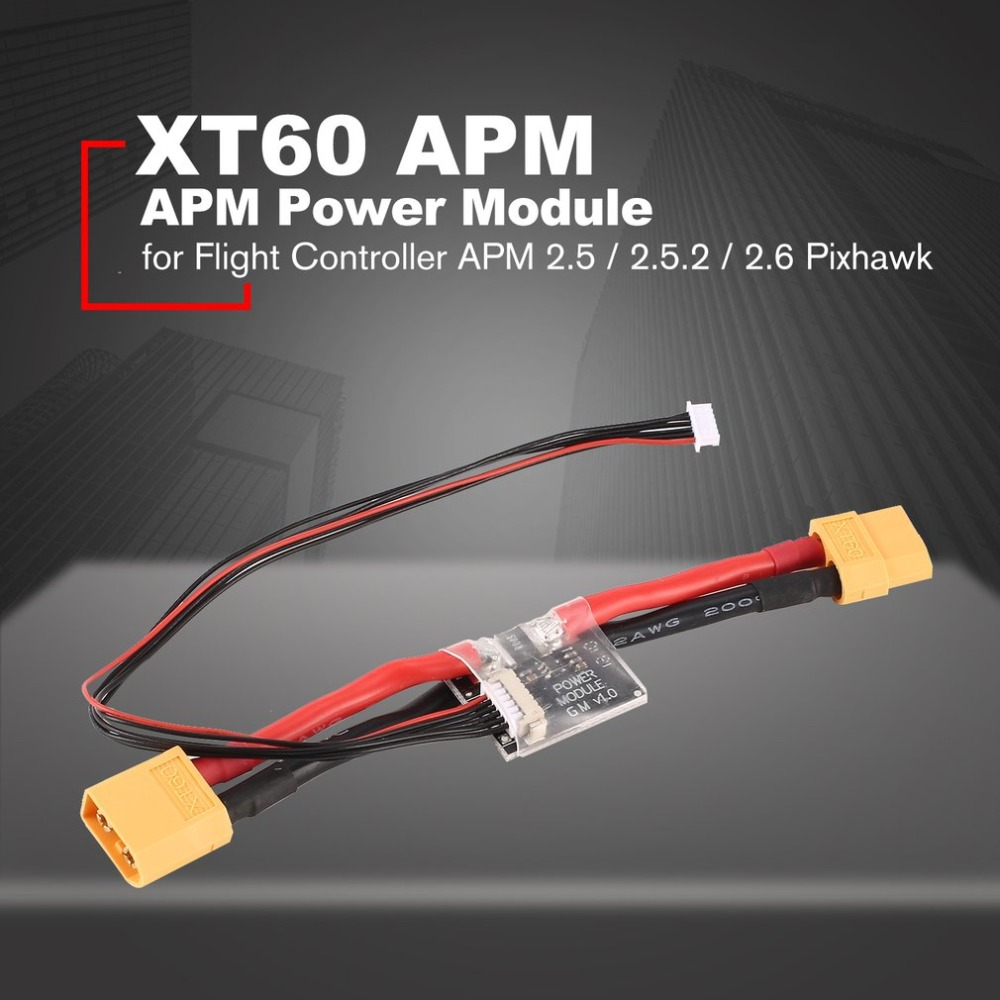 Power Module Board Connectors XT60 APM parts with DC 5 3V BEC for Flight Controller APM 2 5 2 5 2 2 6 Pixhawk Accessories ht in Parts Accessories from Toys Hobbies