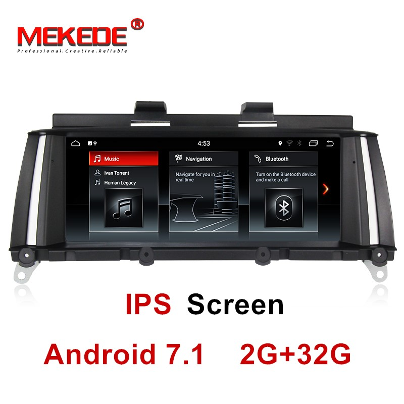 IPS schermo 2 gb + 32 gb android 7.1 Car DVD Multimedia player per BMW X3 F25 2010-2013 originale CIC/NBT Sistema di navigazione gps radio