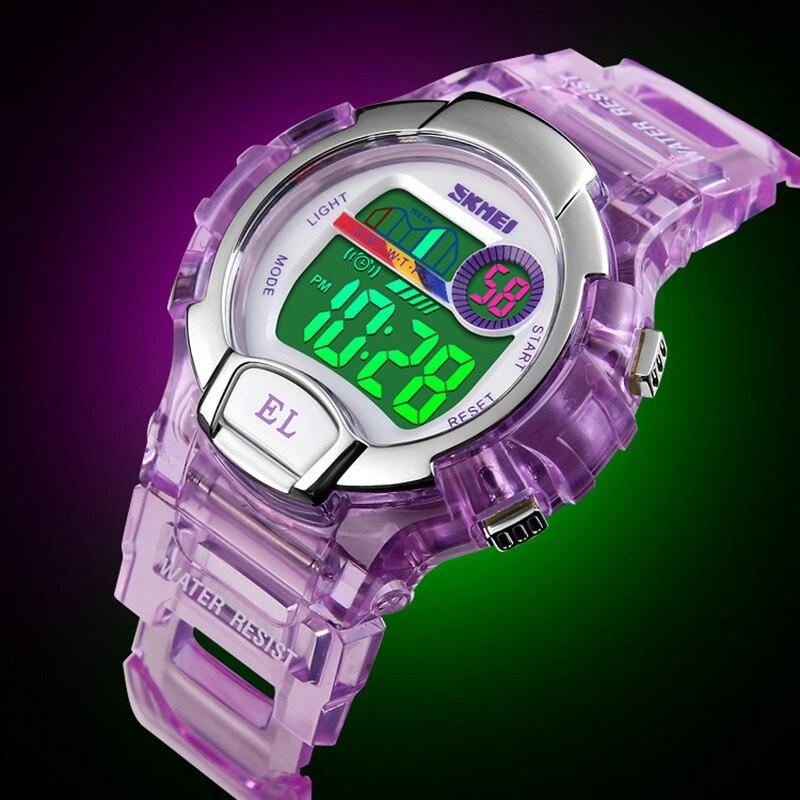 Children Sports Watches Fashion LED Digital Watch Boys Girls Kids 50M Waterproof Wristwatches Relojes SKMEI Top Luxury Brand