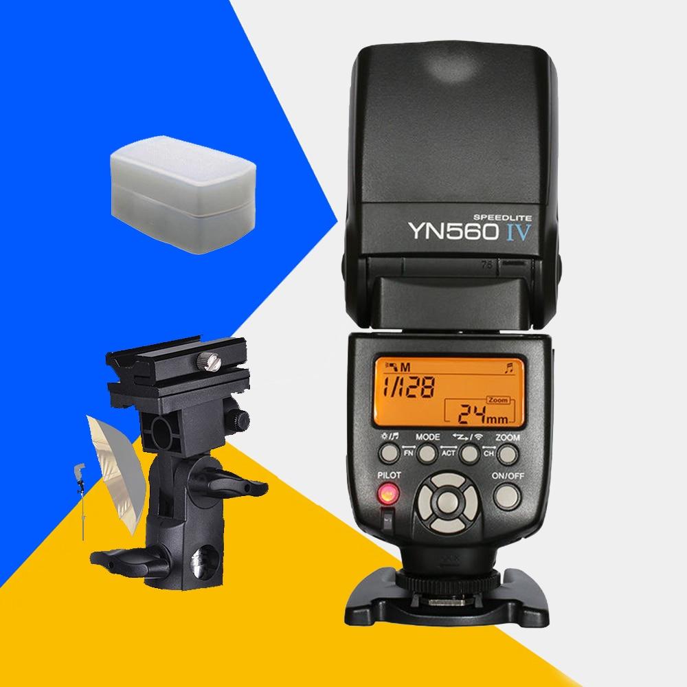 Yongnuo YN560IV Speedlite YN560 IV Flash YN560-IV Speedlight For Canon Nikon Pentax Sony A99 A58 A6000 A3000 A7s A7 NEX-6 A6300 аккордеоны weltmeister s topas iv 37 96 iv 11 5 bk