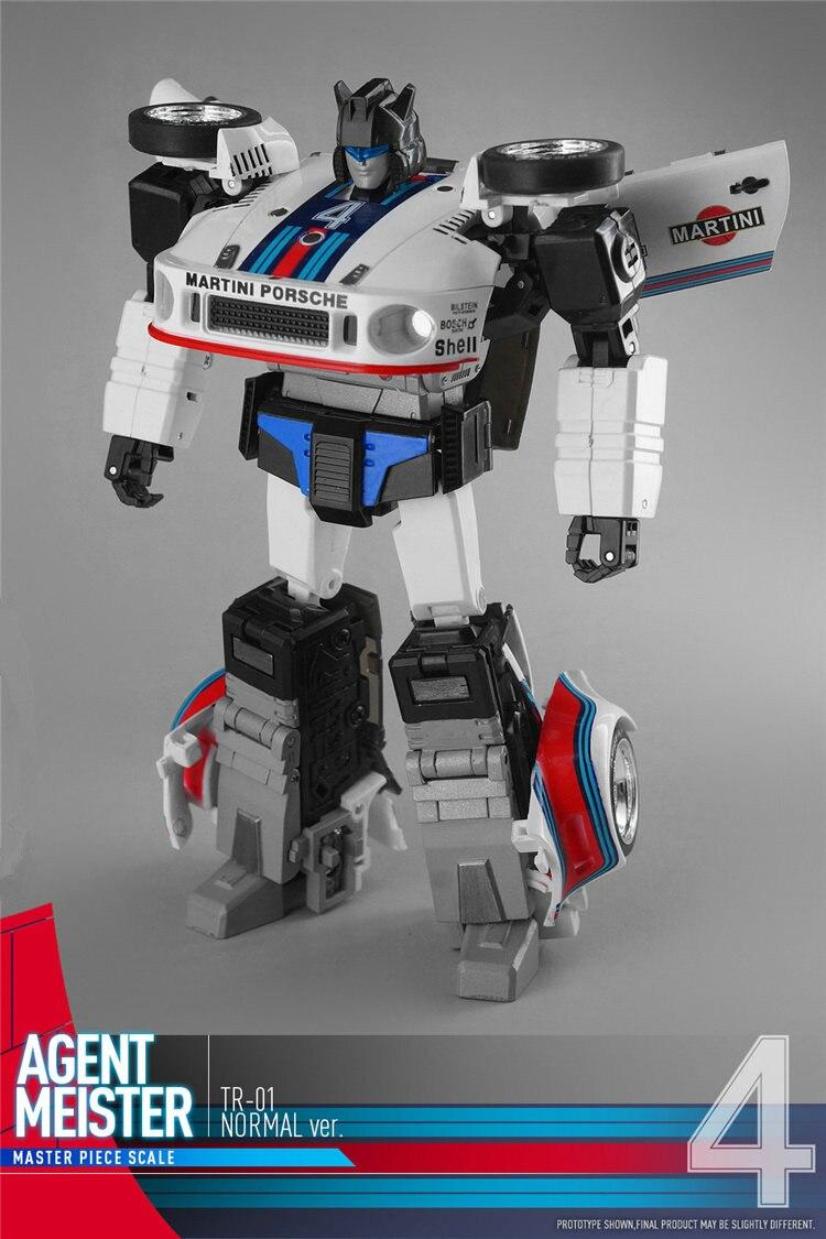 Transformation Déploiement TnR TR-01 TR01 Agent Monsieur Jazz Figurine Transformaion Robot Modèle EN STOCK