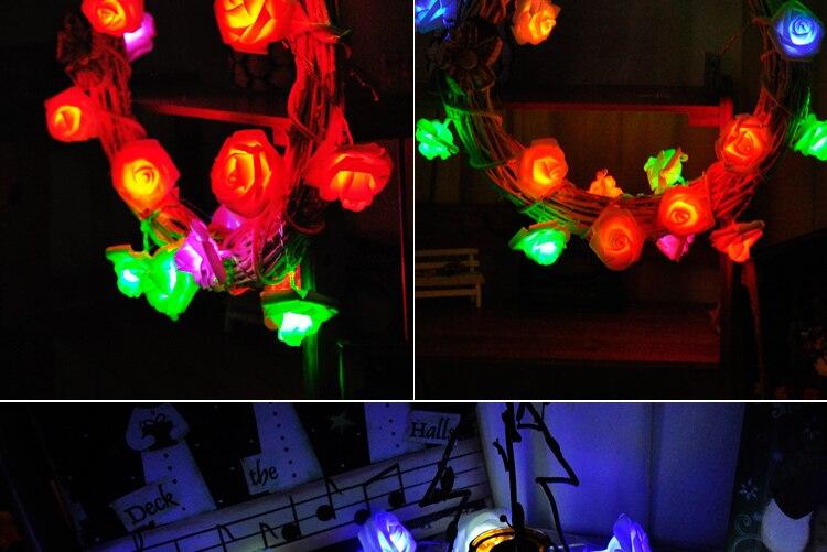 Battery Operated Fairy Lights Guirlande Lumineuse Led 10m 80