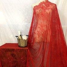 Morbido prospettiva sottile del merletto accessori in pizzo velo da sposa ciglia finte tessuto di pizzo materiale decorativo