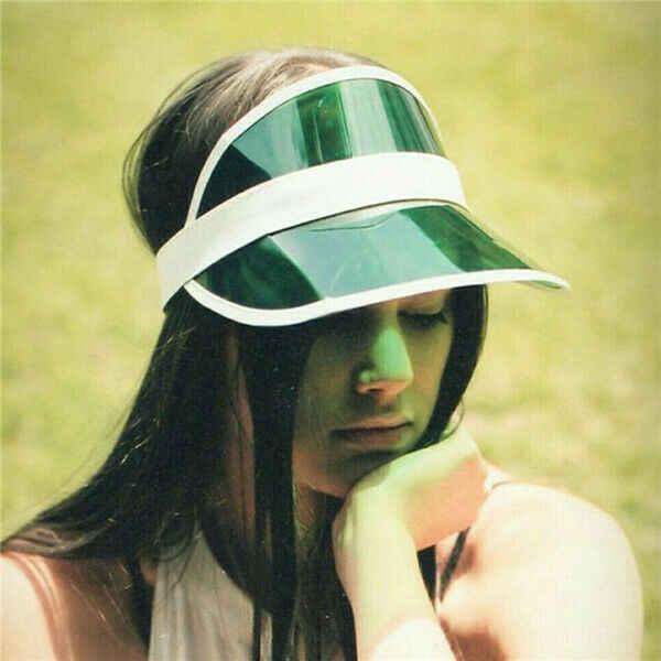 2019 nouveaux hommes femmes été PVC chapeau pare-soleil Tennis Golf extérieur clair crème solaire casquettes chapeaux