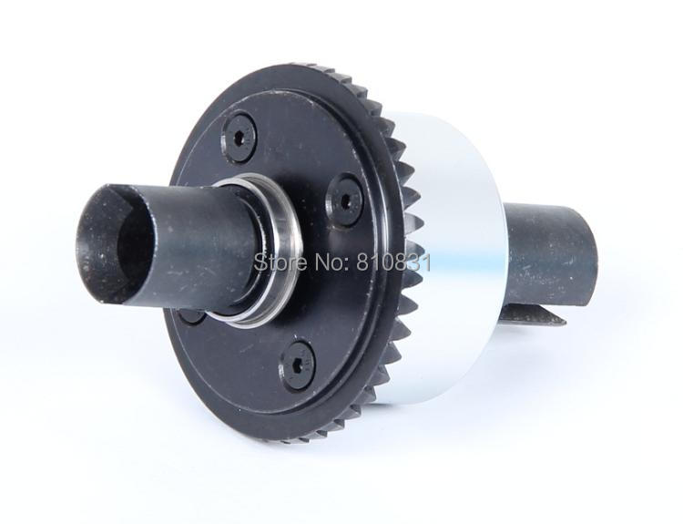 Rovan lt Front cnc metal differential assembly black 87023 NEW rovan lt cnc metal middle differential assembly 87024