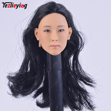 1/6 Scale Accessories KUMIK Head Female Sculpt Hair Carving Korea DIY F 12 Inch Phicen Body Action Figure Hot Toys For Children цена