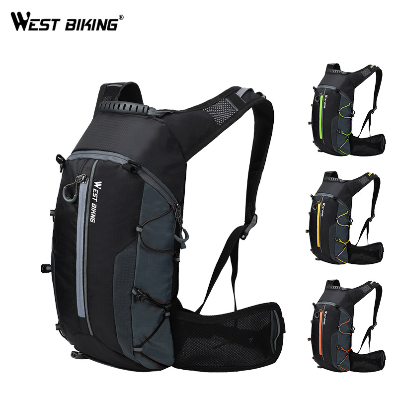 6a8bdf137ffd US $14.2 54% OFF|WEST BIKING Bike Bag Waterproof Outdoor Sports 10L  Portable Foldable Cycling Water Bag Backpack Hiking Climbing Bicycle  Backpack-in ...