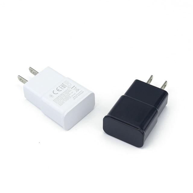 en gros usa plug 2a usb ac mur chargeur adaptateur pour t l phone mobile samsung lg huawei dans. Black Bedroom Furniture Sets. Home Design Ideas