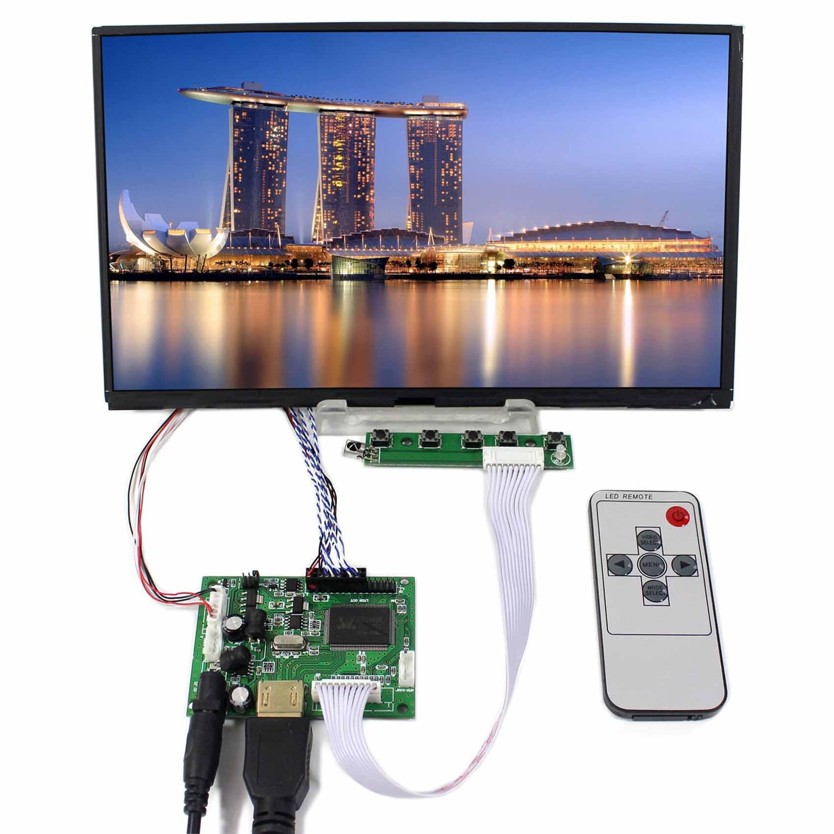 HDMI LCD Controller Board VS-TY2660H-V1+10.1inch 1366x768 B101XAN01 N101BCG IPS LCD Screen vga hdmi lcd controller board for lp156whu tpb1 lp156whu tpa1 lp156whu tpbh lp156whu tpd1 15 6 inch edp 30 pins 1 lane 1366x768