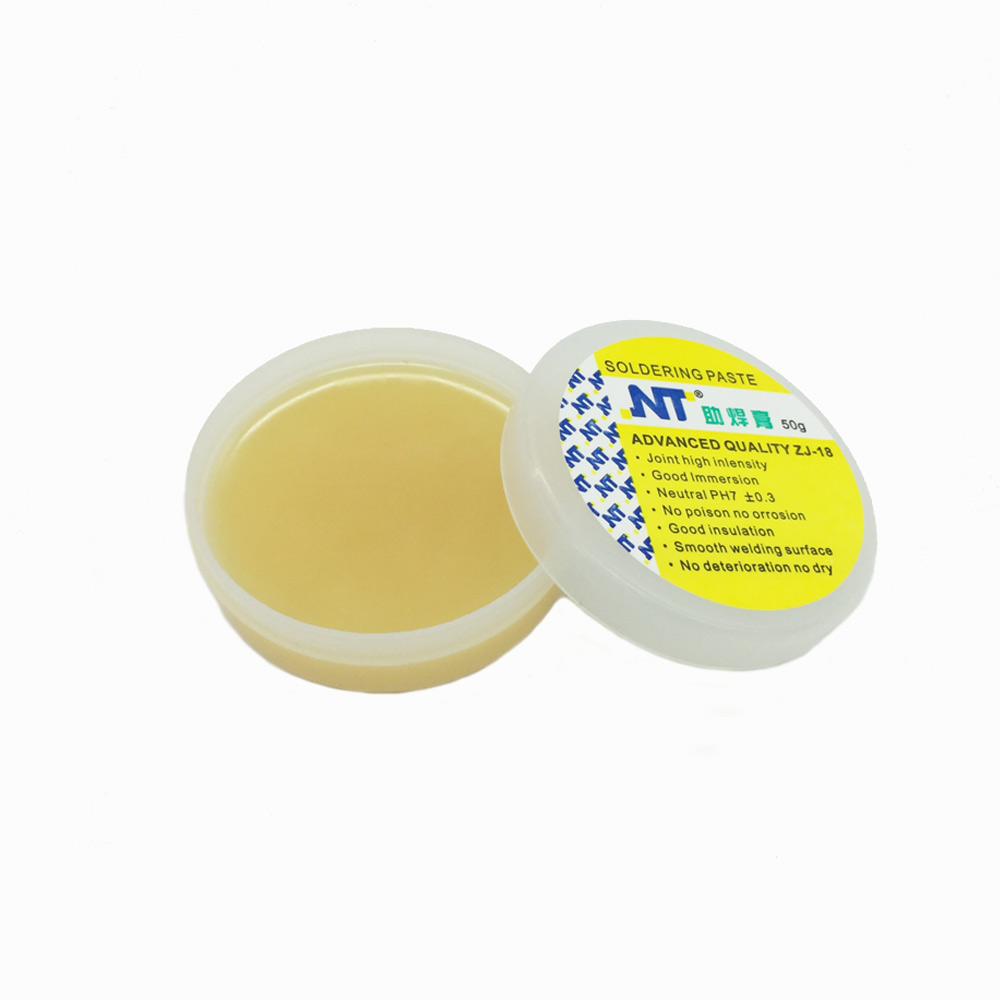 Free Ship High Quality 50g Rosin Soldering Flux Paste Solder Welding Grease Cream For Phone PCB Teaching Resources