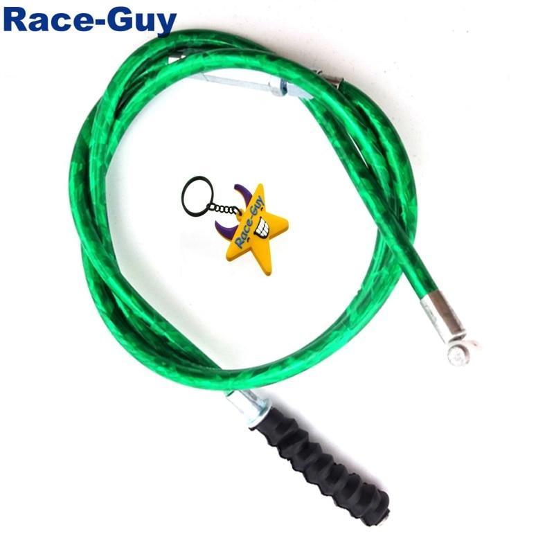 Clutch Cable Green Fit 110 150 200 250cc Pit Dirt Mini Bike  Baja SSR TTR SDG