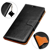 BuzzLee Genuine Leather Crazy Horse Pattern Flip Case For Huawei P10 Lite MATE 10 Pro Honor
