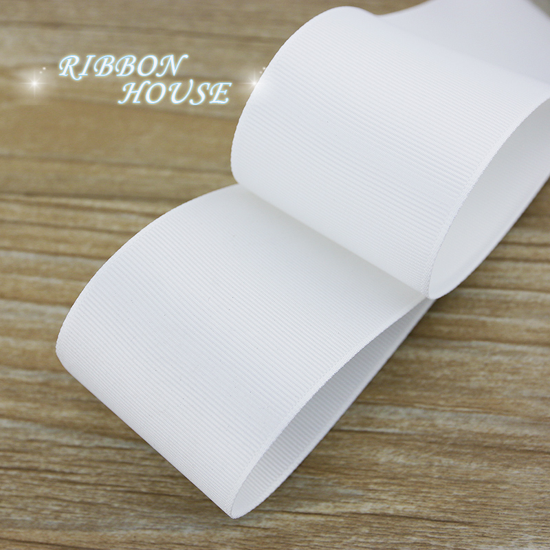 (Мм 5 м/лот) 40 мм белая корсажная лента оптовая продажа подарок обёрточная бумага Рождество украшения ленты