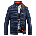 High Quality Thick Pu Winter Jacket Men Coat Brand Clothing Down Cotton Parka Men Casual Mens Winter Jackets And Coats Ceket