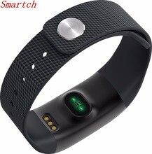 Smartch Водонепроницаемый Сенсорный экран A09 Смарт-часы браслет кровяного давления сердечного ритма Monitores шагомер Фитнес Smart wristban
