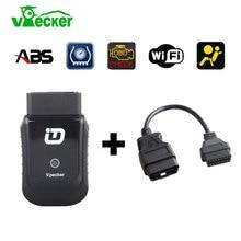 Wi-Fi/Bluetooth vpecker EasyDiag OBD2 код сканер диагностический инструмент сканер automotriz автомобильный диагностический-инструмент Бесплатное обновление