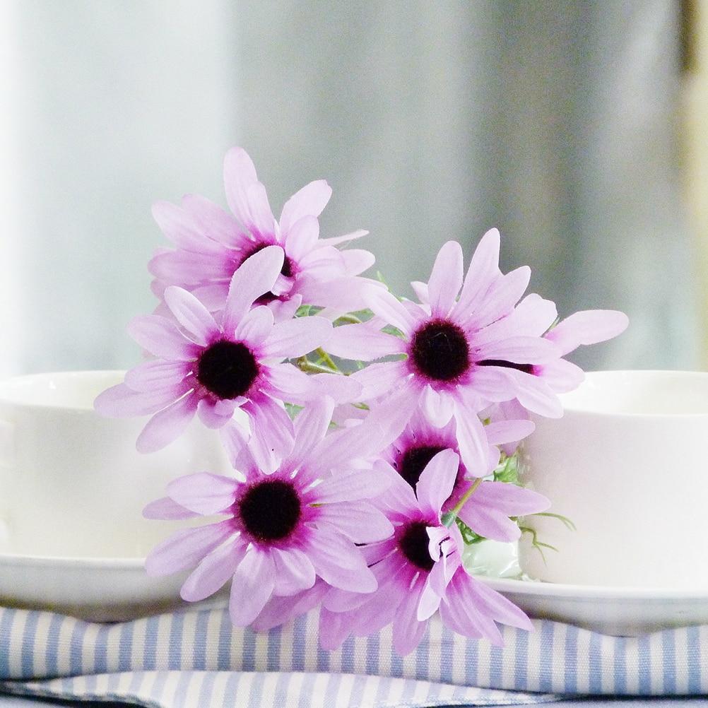 Aliexpress Buy Hot Sale 1 Bouquet 5 Heads Artificial Fake