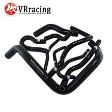 VR – D15/16 Silicone Radiator Coolant Hose,Silicone hose kit With logo For Honda CIVIC SOHC D15 D16 EG EK 92-00 VR-LX1303D-BK