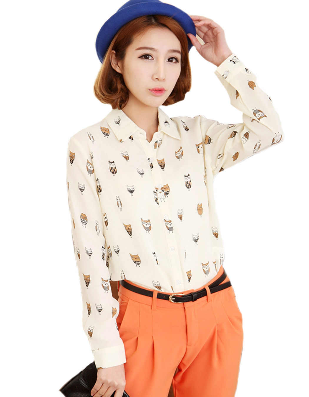 Popular Owl Blouses-Buy Cheap Owl Blouses lots from China Owl ...