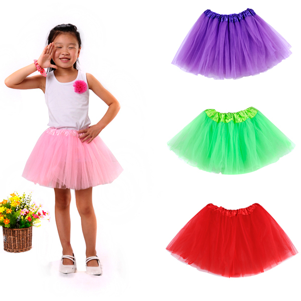 Fashion Baby Girls Tutu Skirt Kids Pettiskirts Tutus Summer 9 Colors Pink Skirts For Dance Party Ball Petticoat Costume In From Mother