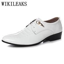 formal oxford shoes for men shoes zapatillas hombre designer brand italian patent