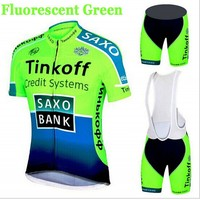 Cycling Wear Mens Maillot SaxoBank Tinkoff Cycling Jerseys Quick Dry Ropa MTB Ciclismo Cycling Clothing Breathable
