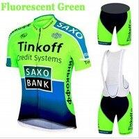 Cycling Wear Mens Maillot SaxoBank Tinkoff Cycling Jerseys Quick Dry Ropa MTB Ciclismo Cycling Clothing Breathable