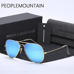 f5fdda47623 PEOPLE MOUNTAIN men sunglasses women sun glasses Male