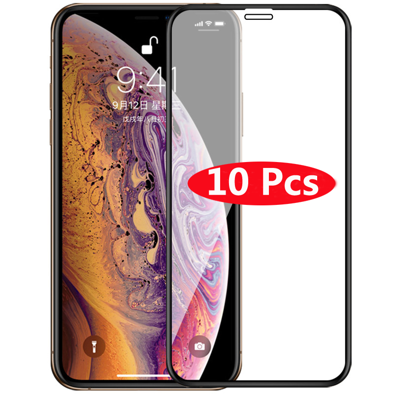 RONICAN Tempered Glass For IPhone Xr Xs Max X 5 5S 6 6S Plus 7 8 Plus Screen Protector For IPhone Xr Xs Max X 5 5S 6 6S 7 8 Plus