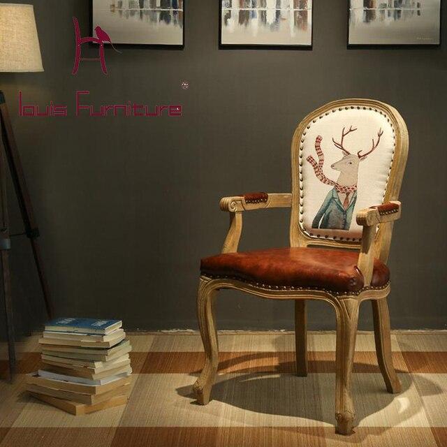 Sedie In Legno Per Alberghi.Tavoli E Sedie In Legno In Stile Europeo Retro Old Longmen Albergo