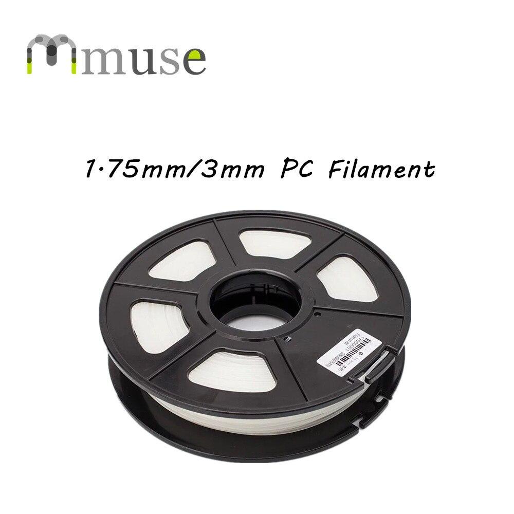 1 kg/Bobine PC 3D Impression Filament Pour FDM 3D Imprimantes