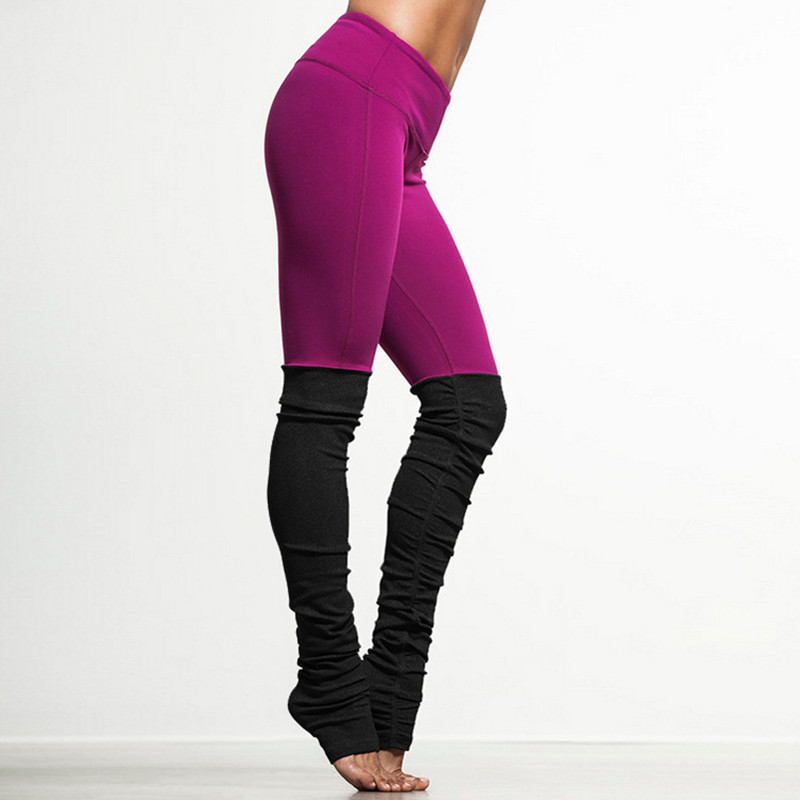 Prix pour Nouveau haut élastique fitness femmes sport leggings professionnel yoga pantalon gym courir collants sexy skinny jogging femme