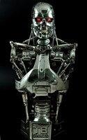 46 см 1/1 масштаб Терминатор аниме Рисунок T2 T800 куклы Терминатор действий фигурная Смола Статуя Бюст Модель украшения игрушки Ver