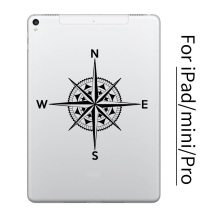 NEW Vintage Compass Tablet PC Sticker for Apple iPad Decal Air Pro Mini 7.9/9.7/10.5/12.9 inch Art Laptop Skin Macbook Sticker