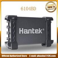 Hantek 6104BD USB осциллографы на базе ПК 4 Каналы 100 МГц пропускной способности Цифровой Портативный Ручной Osciloscopio 1Gsa/s